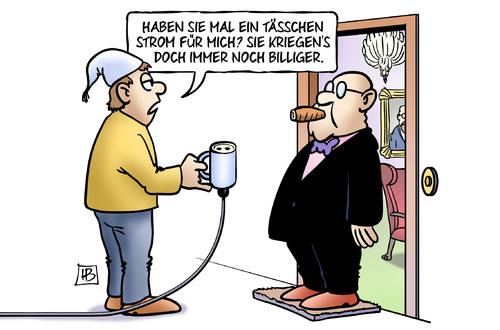 Cartoon: Tässchen Strom (medium) by Harm Bengen tagged tässchen,strom,billiger,eeg,ökostrom,rabatte,industrie,eu,harm,bengen,cartoon,karikatur,tässchen,strom,billiger,eeg,ökostrom,rabatte,industrie,eu,harm,bengen,cartoon,karikatur