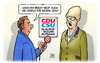 Cartoon: Bayern-Brexit (small) by Harm Bengen tagged bayern,klausurtagung,potsdam,cdu,csu,streit,brexit,wahlkampf,uk,gb,referendum,abstimmung,eu,europa,austritt,harm,bengen,cartoon,karikatur