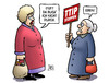 Cartoon: TTIP-Durchblick (small) by Harm Bengen tagged ttip,durchblick,freihandelsabkommen,demonstration,susemil,harm,bengen,cartoon,karikatur