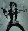 Cartoon: Han Solo (small) by jonesmac2006 tagged han,solo,caricature
