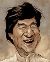 Cartoon: Jackie Chan (small) by jonesmac2006 tagged jackie,chan,caricature
