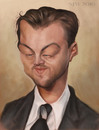 Cartoon: Leonardo Dicaricatured (small) by jonesmac2006 tagged caricature