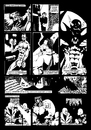 Cartoon: La Vita e Letame 1_2 (small) by csamcram tagged heroe super superheroes superheroe supereroi supereroe superhelden superheld comics white black cram csam
