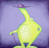 Cartoon: Stachelbert (small) by ninaboosart tagged obst,beeren