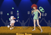 Cartoon: Eurovision Song Contest (small) by Dadaphil tagged eurovision,song,contest,singer,dog,juggling,judges,jury,sänger,hund,jonglieren,preisrichter