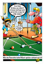 Cartoon: Pinocchio 3 (small) by stefanbayer tagged pinocchio,lüge,lügner,holz,nase,billard,billardkugel,nerven,gewinnen,einlochen,poolbillard,kneipe,lounge,bar,nachtleben,zocken,ärgern,stefan,bayer