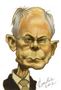 Cartoon: Van Rompuy (small) by StudioCandia tagged politicians