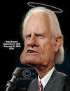 Cartoon: Billy Graham (small) by rocksaw tagged billy,graham