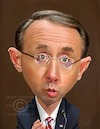Cartoon: Deputy Attorney General Rod Rose (small) by rocksaw tagged deputy,attorney,general,rod,rosenstein