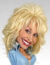 Cartoon: Dolly Rebecca Parton Dean (small) by rocksaw tagged caricature,dolly,rebecca,parton,dean
