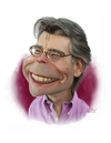 Cartoon: Stephen King (small) by rocksaw tagged caricature,stephen,king