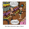 Cartoon: The Trans-Atlantic Salve Trade (small) by gothink tagged cartoon,comic,colour,spelling,pun,slave,trade,trans,atlantic
