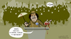 Cartoon: Festival de la felicidad (small) by cosmicomix tagged gaddafi,gadafi,speech,discurso,revolution