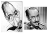Cartoon: Groucho Marx (small) by Kostadin tagged film,actor