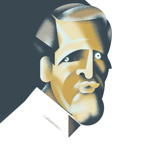 Cartoon: Paul Newman (medium) by Michele Rocchetti tagged paul,newman,actor,hollywood