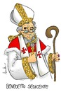 Cartoon: I am Benedictus (small) by Atride tagged pope papa benedetto benediktus xvi benedictus joseph ratzinger