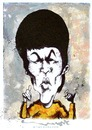Cartoon: BRUCE LEE (small) by allan mcdonald tagged artes,marciales
