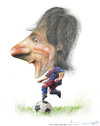 Cartoon: LIONEL MESSI (small) by allan mcdonald tagged futbol