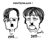 Cartoon: Deutschland !. (small) by ismail dogan tagged merkel