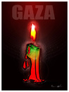 Cartoon: GAZA REMEMBERS !.. (small) by ismail dogan tagged gaza,remembers