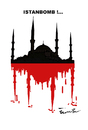 Cartoon: ISTANBOMB ! (small) by ismail dogan tagged istanbul