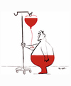 Cartoon: LA MALADIE D AMOUR !.. (small) by ismail dogan tagged love