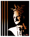 Cartoon: NAZIM HIKMET (small) by ismail dogan tagged famous poet