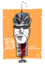 Cartoon: lance armstrong (small) by emre yilmaz tagged lance,armstrong,bicycle,usa,sport