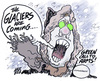 Cartoon: doom around the corner (small) by barbeefish tagged control