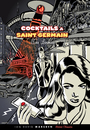 Cartoon: Cocktails a St Germain (small) by ian david marsden tagged cocktail,paris,france,saint,germain,retro,robot,death,ray,scifi,noir,ligne,claire,atomic,style,bd,illustration,illustrator,dessinateur,marsden