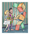 Cartoon: Do it Yourself (small) by ian david marsden tagged cartoon,illustration,do,it,yourself,building,couple