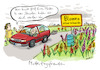 Cartoon: Muttertagsfreuden (small) by habild tagged muttertag,blumen,geschenk,mutter,kinder,familie