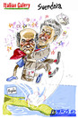 Cartoon: vince vendola (small) by portos tagged pd,primarie,puglia,vendola,boccia