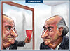 Cartoon: Blatter Resigns (small) by Felipe Moreira tagged caricature,cartoon