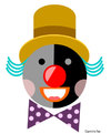 Cartoon: Clown Number 3 (small) by Garrincha tagged clowns,vector,illustrations,for,kids