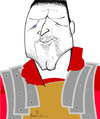 Cartoon: General Maximus (small) by Garrincha tagged caricatures,personalities,artists,russell,crowe,actors