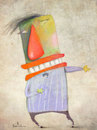Cartoon: The performer (small) by Garrincha tagged artists