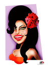 Cartoon: Amy Winehouse (small) by saadet demir yalcin tagged amy,syalcin