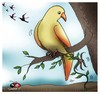 Cartoon: Dont go... (small) by saadet demir yalcin tagged saadet syalcin sdy turkey nature humor ecology