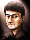 Cartoon: KEMO (small) by saadet demir yalcin tagged saadet,syalcin,sdy,turkey,georgia,friendship,portrait,kemo