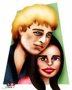 Cartoon: love story... (small) by saadet demir yalcin tagged lovestory,syalcin
