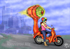 Cartoon: CITY MONSTER (small) by T-BOY tagged city,monster