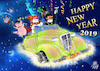 Cartoon: HAPPY NEW YEAR 2019 (small) by T-BOY tagged happy,new,year,2019