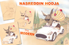 Cartoon: NASREDDIN HODJA (small) by T-BOY tagged nasreddin,hodja
