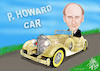 Cartoon: P HOWARD  CAR (small) by T-BOY tagged howard,car