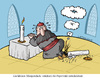 Cartoon: Um Gottes Willen! (small) by Nottel tagged papst,katholiken,franziskus,benedikt,glauben,religion
