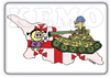Cartoon: Georgia VS Russian war 2008 (small) by K E M O tagged kemo,caricature,georgia,russian,war,2008