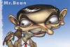 Cartoon: Mr Bean (small) by K E M O tagged mr,bean,kemo,caricature,animation,art,funny,nika,kemularia,actor,famous