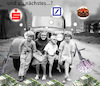 Cartoon: die kleinen gangsterstrolche (small) by wheelman tagged kinder,spass,bank,raub,geld