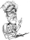 Cartoon: David Lynch (small) by stieglitz tagged david,lynch,karikatur,caricature